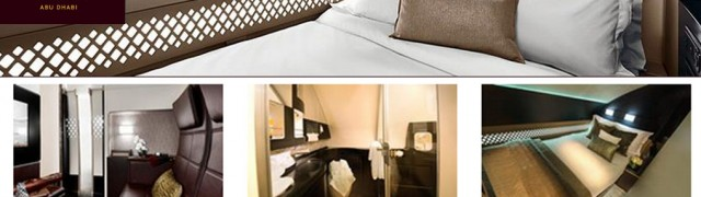 The Residence, Ethiad Airways: Luxurious living space in the air