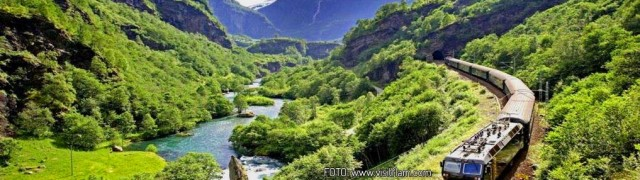 Contemplate the Norwegian fjords from the Flamsbana train